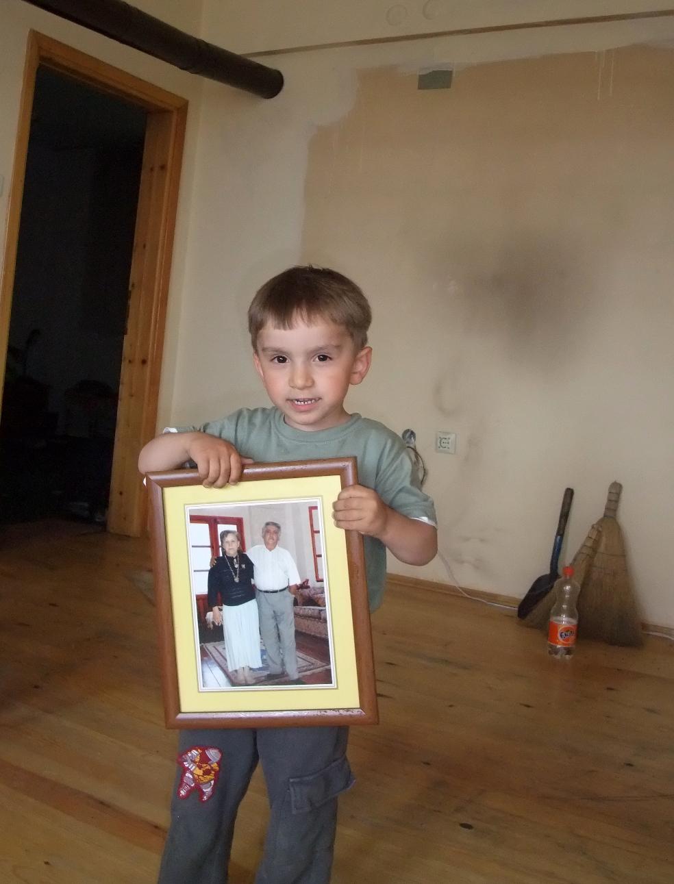 Benny und ein Bild