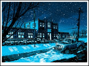Escuela, por Tim Doyle