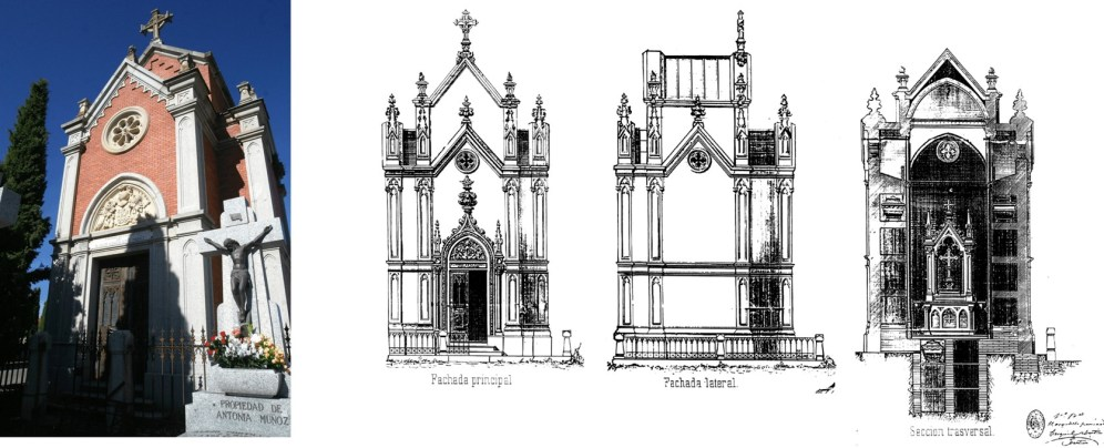arquitectura funeraria cementerio municipal de Toledo A de Mingo hombredepalo02