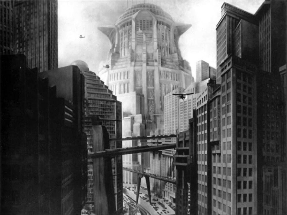 De caligari a Hitler 1 Introducción - Portada - Fotograma de Metrópolis - Fritz Lang
