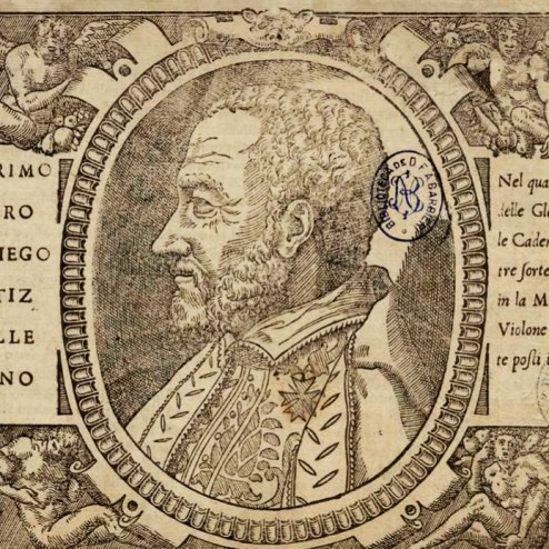 "Portada ""Il primo libro"" Tratado de Glosas"