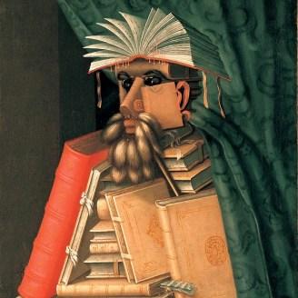 """El Bibliotecario"" de Giuseppe Arcimboldo, 1566."