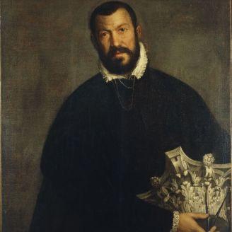 Vincenzo Scamozzi retrato de Veronese. 1587