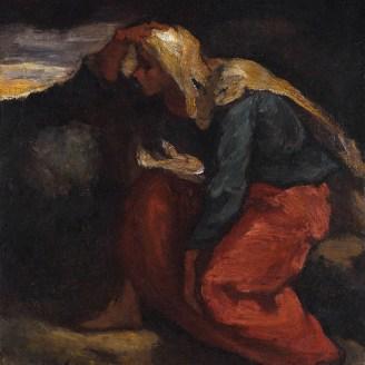 """Eugène Delacroix, """"Femme de pêcheur à la plage"""""""