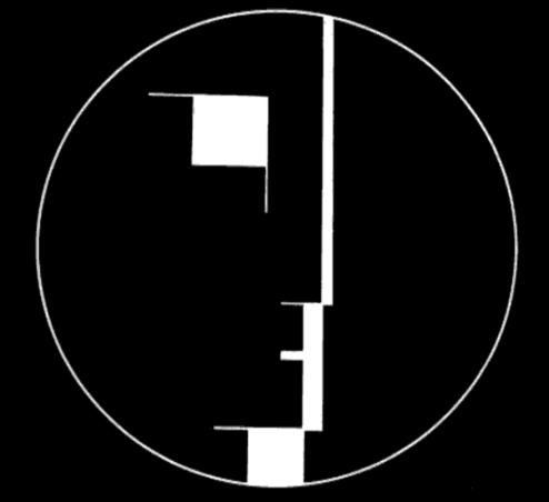 Logo Bauhaus, 1921. Oskar Schlemmer.