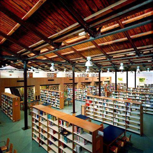 Biblioteca de la Fábrica de Armas