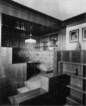 Adolf Loos, villa Müller, Praga, 1930. Interior