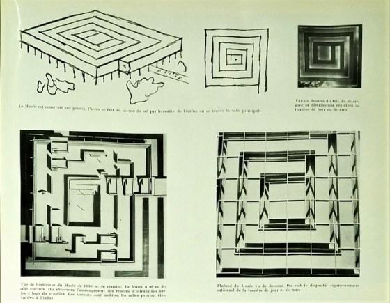 Le Corbusier. Museo de crecimiento infinito 1939.