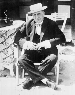 El millonario americano W. R. Hearst.