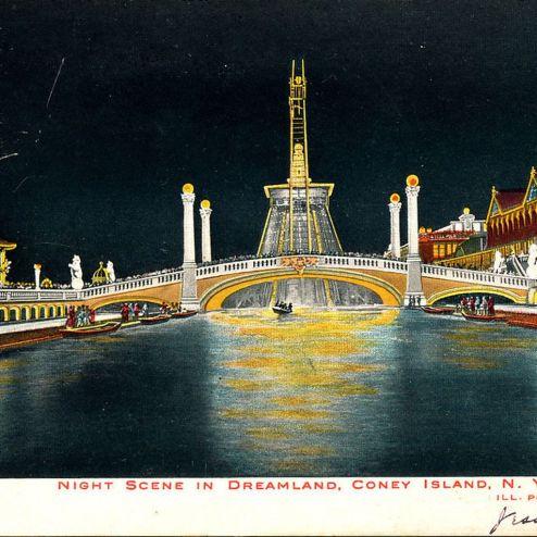 Dreamland Coney Island, NY 1905.