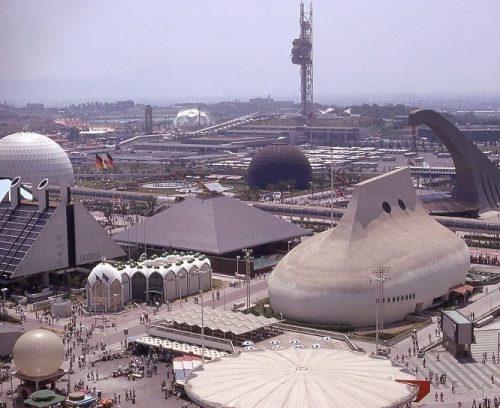 Osaka de 1970.
