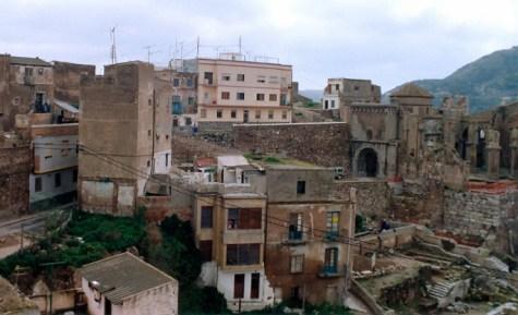Ruinas del teatro de Cartagena 1991.