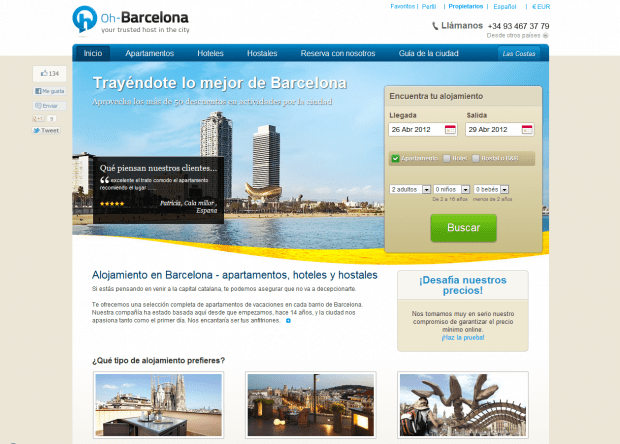 Apartamentos Barcelona