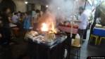 Cocinando en la calle