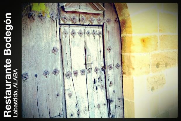 Una puerta en Labastida, Alava