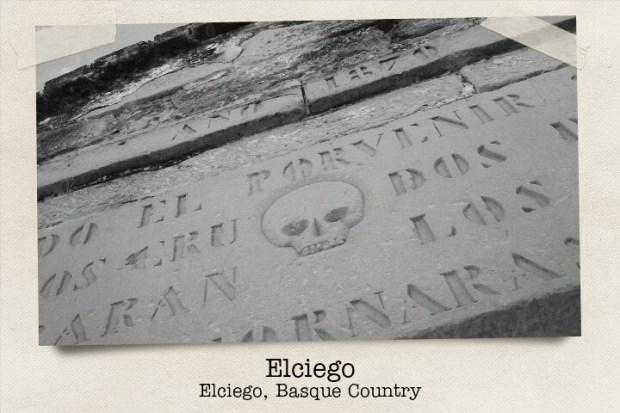 Entrada al cementerio de Elciego, Rioja Alavesa