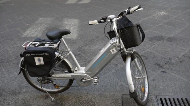 La bicicleta eléctrica de la Policía Municipal