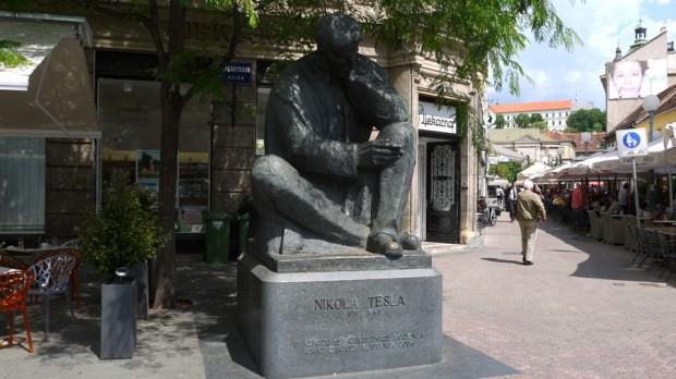 El mismísimo Nikola Tesla, nacido en la actual Croacia y un auténtico monstruo de la invención