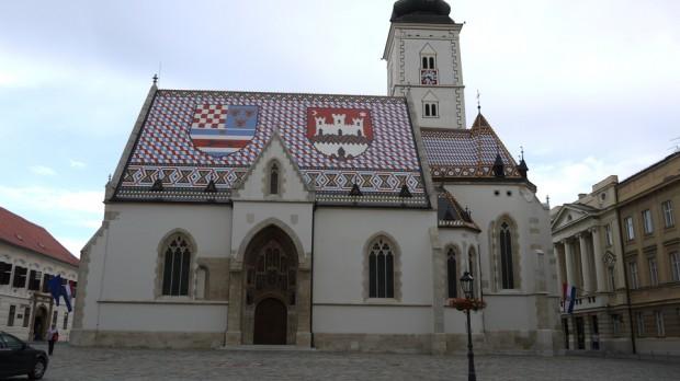 La iglesia de Sv. Marka o San Marcos en Zagreb II
