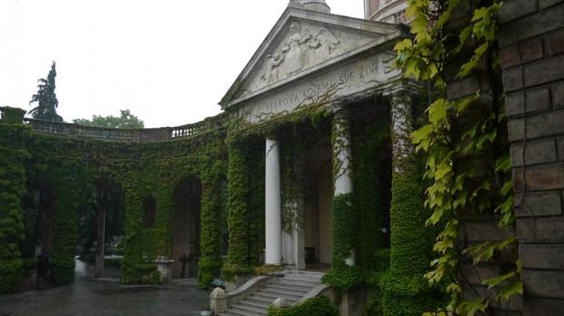 Entrada al cementerio Mirogoj