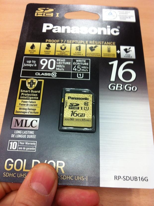 Tarjeta SD Panasonic 16Gb