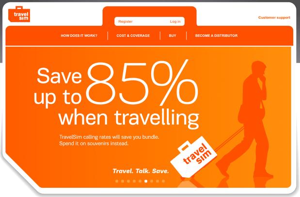 TravelSim, tarjeta SIM de viajes