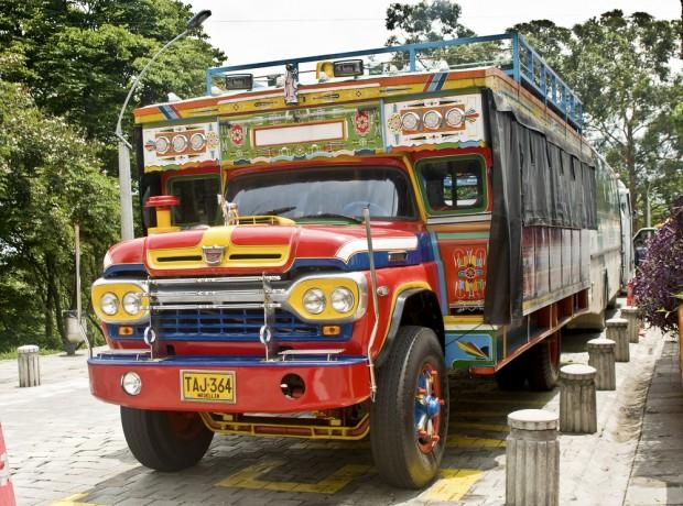 Camión Chiva