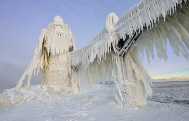 Faro de St. Joseph, Michigan, EE.UU.