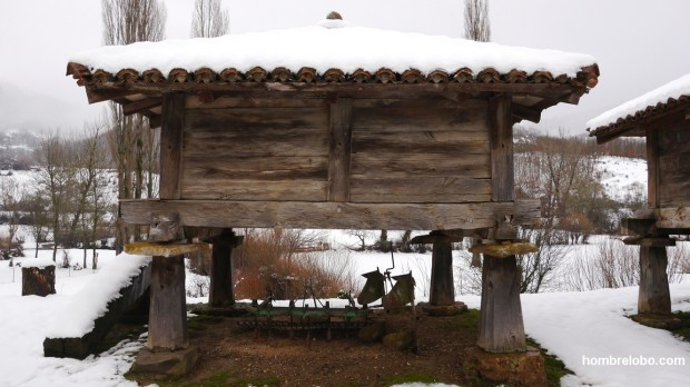 Un hórreo Leonés en Prioro