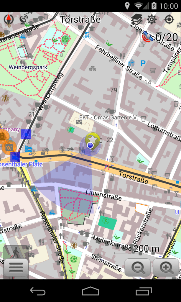 Mapas offline OsmAnd