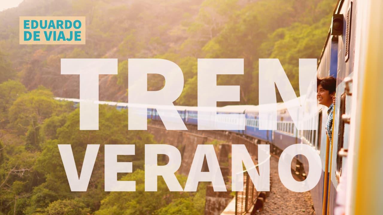 VERANO en tren: Viaje en tren desde la cabina en Noruega línea Nordlandsbanen 10 horas