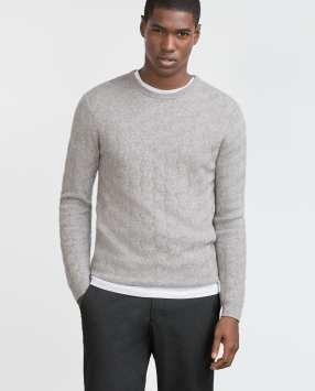 Suéter de punto con textura otoño 2015 (9)
