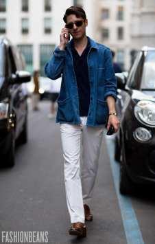 moda en la calle, cazadora denim (7)