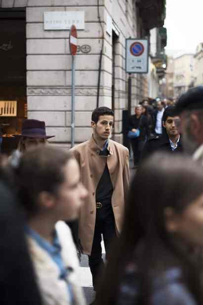 moda en la calle, otoño en camel (8)