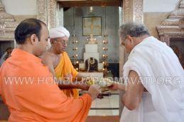 Hombuja-Jain-Math-Dharmasthala-Veerendra-Hegde-Visit-0006