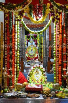 Hombuja-Jain-Math-Humcha-Navarathri-Dasara-Celebrations-Pooja-Day-03-0012