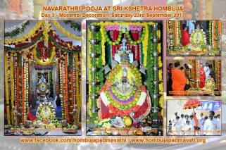 Hombuja_2017_Navaratri_Pooja_Day_03
