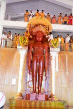 Humcha-Hombuja-Jain-Math-Rathotsava-Day-05-Guddada-Basadi-Parshwanath-Tirthankar-Abhisheka-0015
