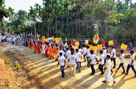 Acharya-Shanthisagar-Maharaj-Diksha-Shatamanotsava-Procession-Function-Aradhane-Humcha-Hombuja-Jain-Math-0006
