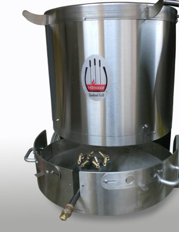 Hōmdoor Propane Stainless Steel Outdoor Tandoor Oven -2