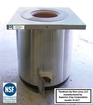 NSF Self-Contained Stainless Steel Restaurant Tandoor