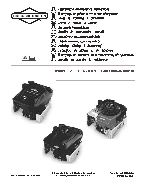 Briggs And Stratton Engine Manuals   Unixpaint