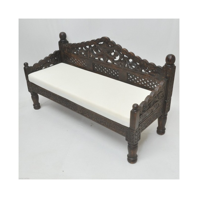 Hand Carved Daybed Small Home Decorz