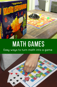 Math Games: Easy Ways to Turn Math into a Game
