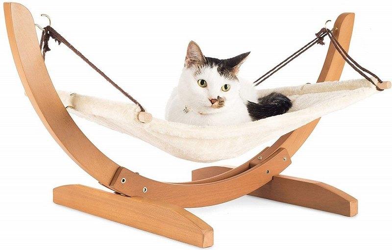 гамак для кота своими руками с деревянными планочками