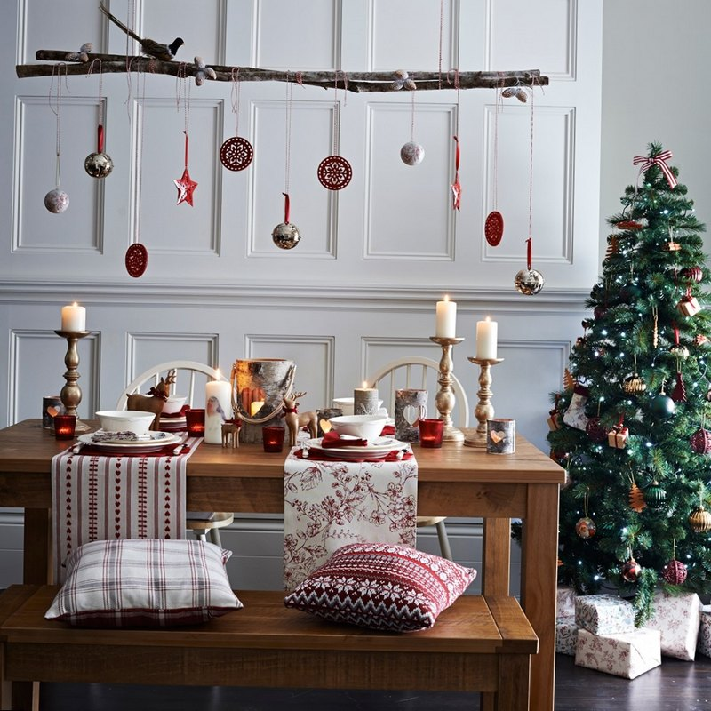 декор комнаты на новый год своими руками