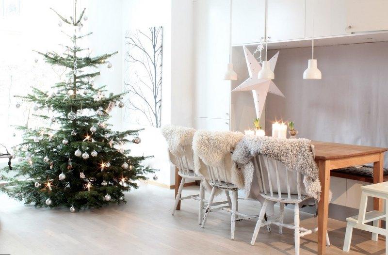 новогодний декор комнаты своими руками