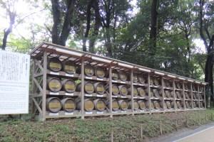 明治神宮のワイン樽
