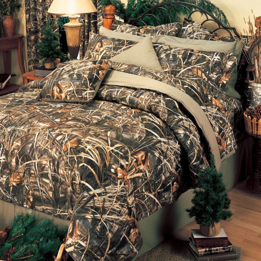 Camouflage Bedroom Decor