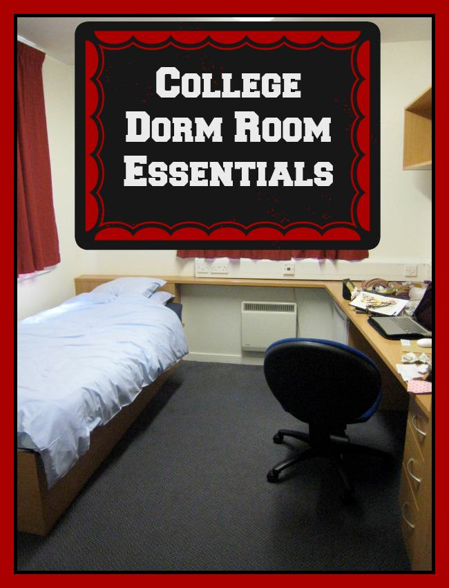 Must Have College Dorm Room Essentials You Dont Want To